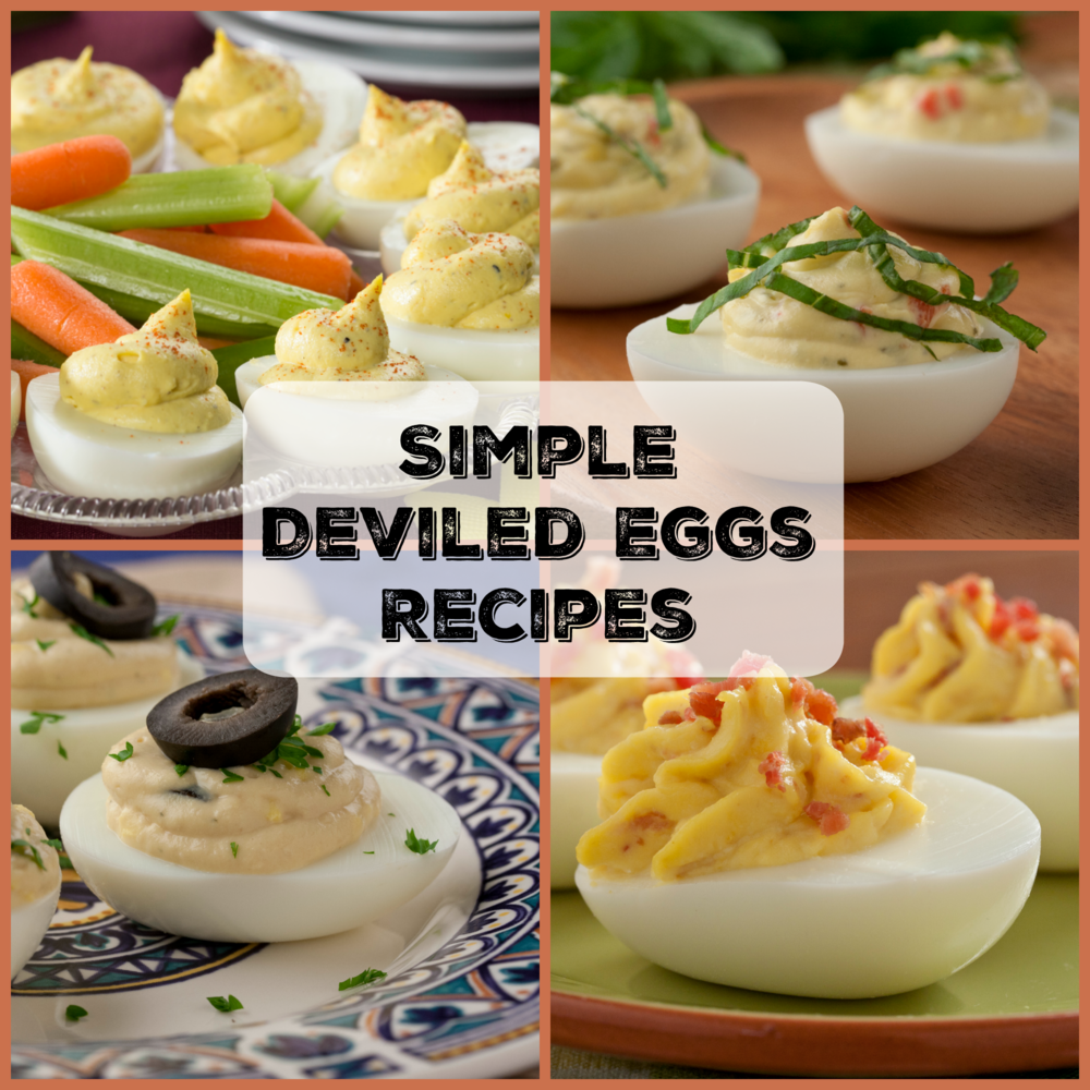 12 Simple Deviled Eggs Recipes | MrFood.com