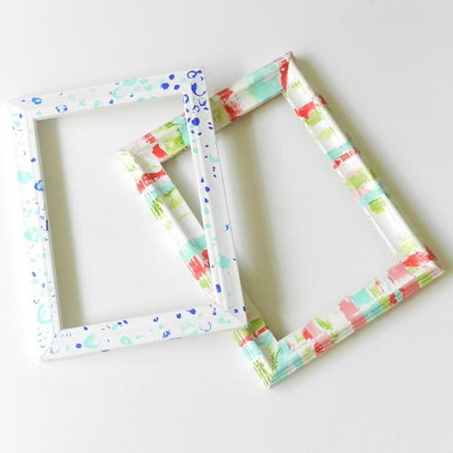 Perky Painted DIY Frames