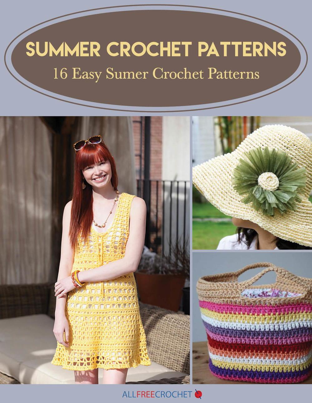 Easy Summer Crochet Hat Patterns : Summer Crochet Patterns: 16 Easy Summer Crochet Patterns ...