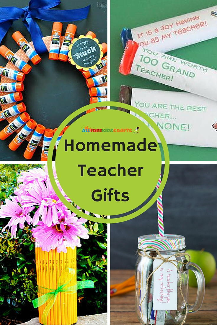 13 Homemade Teacher Gifts AllFreeKidsCrafts
