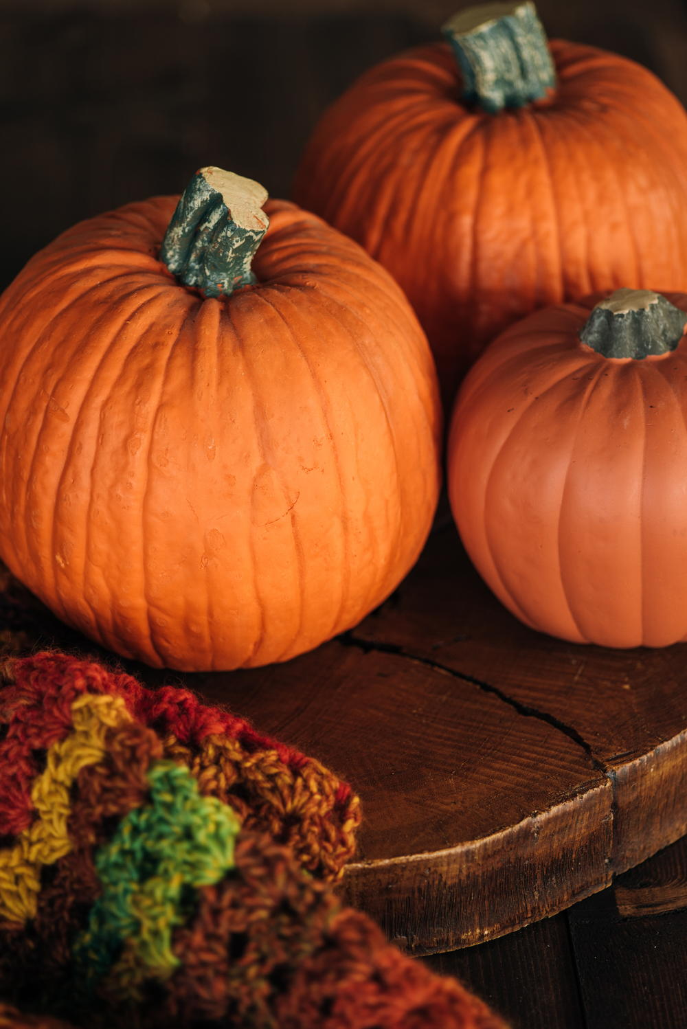 How to Paint Pumpkins for Halloween