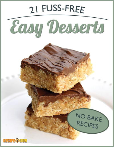 No Bake Recipes: 21 Fuss-Free Easy Desserts