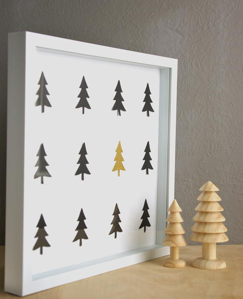 Cheery Tree DIY Wall Art