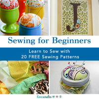 """Sewing for Beginners"" eBook"