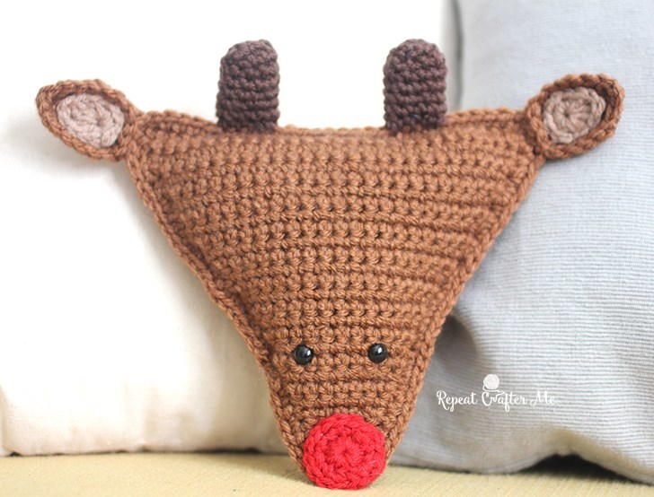 Clarice and Rudolph the Red-Nosed Reindeer Crochet pattern by Kati ... | 554x728