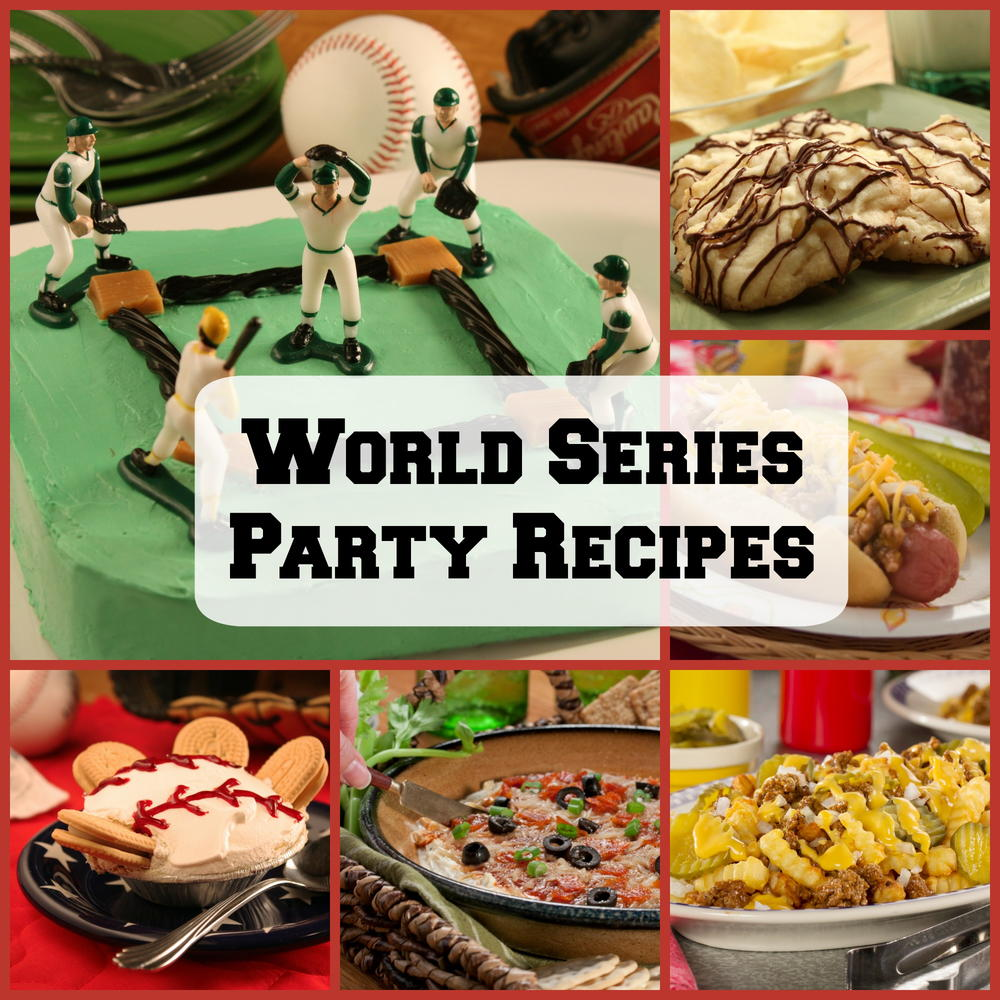 8 Easy World Series Party Recipes Mrfood Com