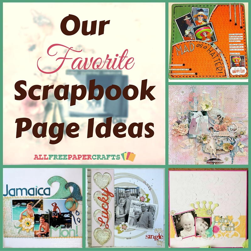 Scrapbooking Layouts: 20 of Our Favorite Scrapbook Page ...