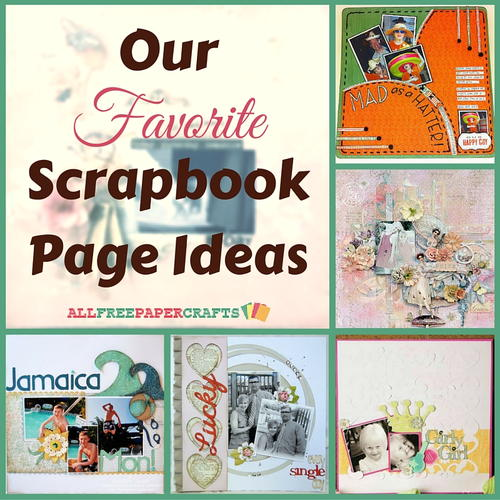 Scrapbooking layouts 20 of our favorite scrapbook page ideas - Scrapbooking idees pages ...