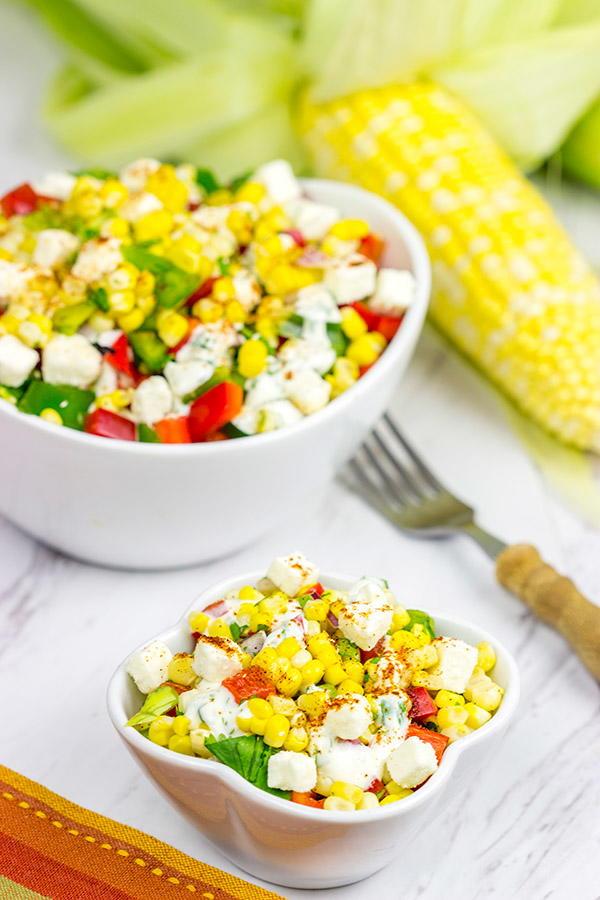 Mexican Street Corn Salad Recipelion Com