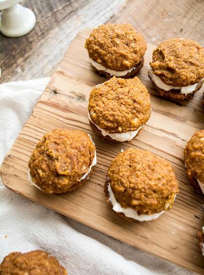 Healthy Pumpkin Whoopie Pies