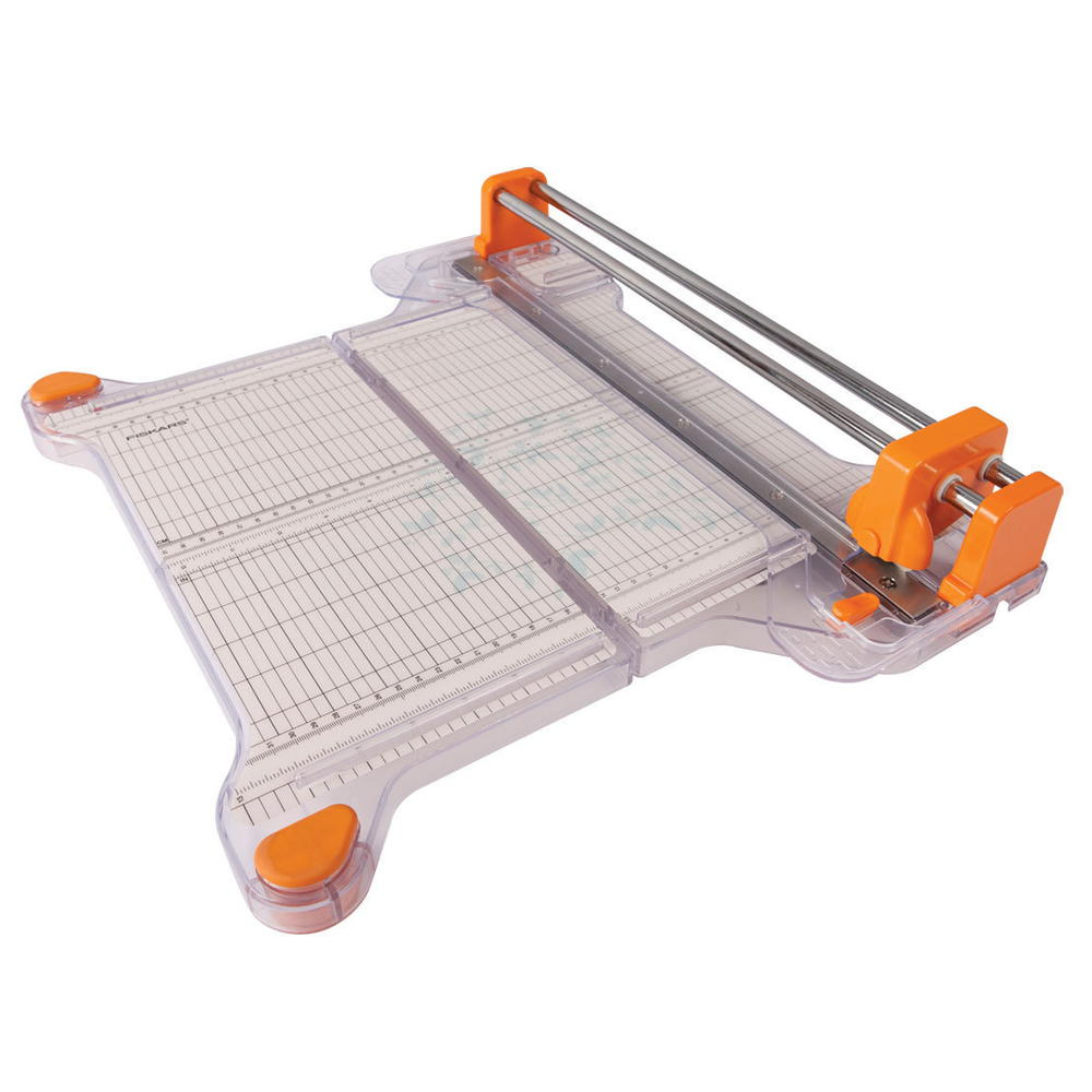 Fiskars procision rotary bypass trimmer review for Paper cutter for crafts