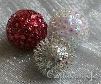 Pleasing Bursting Bead Christmas Ball Ornaments Allfreechristmascrafts Com Easy Diy Christmas Decorations Tissureus