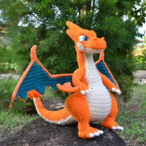 Charizard made by VR Free pattern by Ana Amelia Galvao | Crochet ... | 300x300