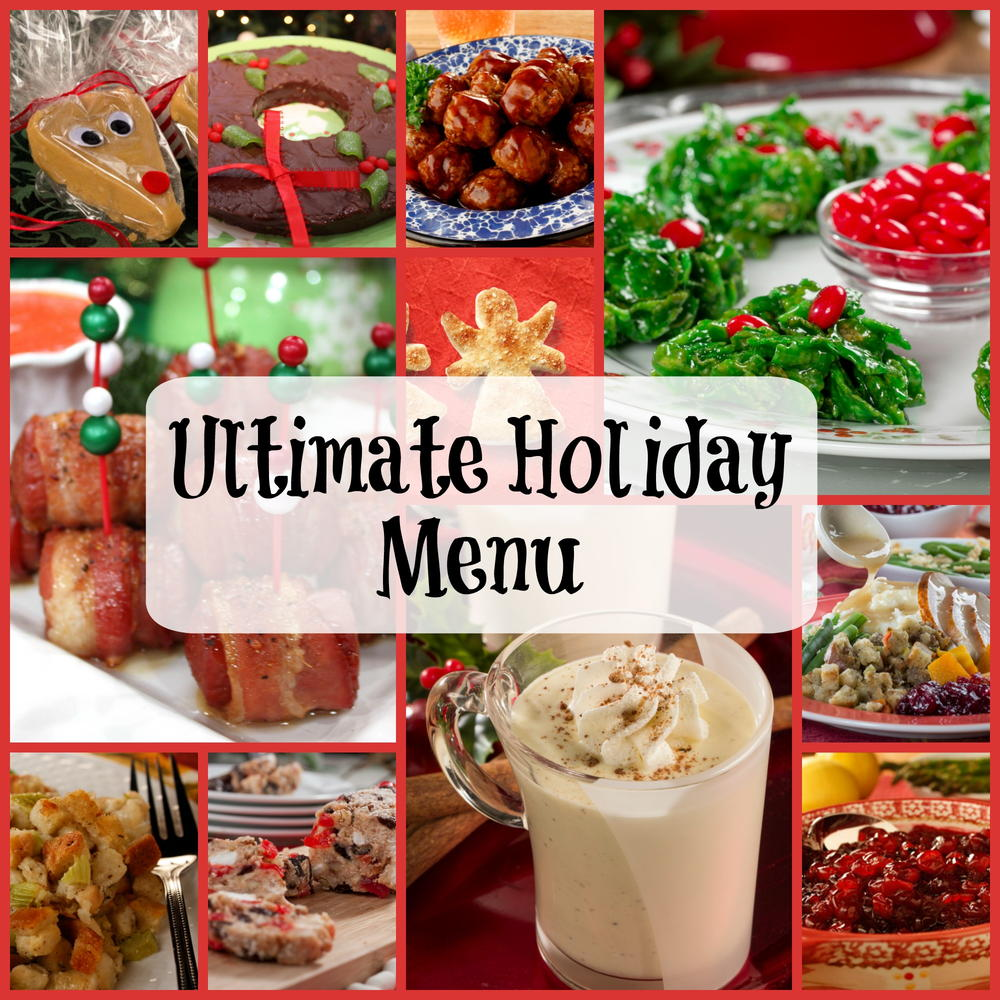 Ultimate Holiday Menu 350 Recipes For Christmas Dinner