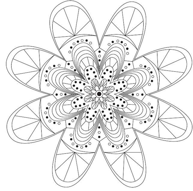 daisy coloring pages crafts - photo#21