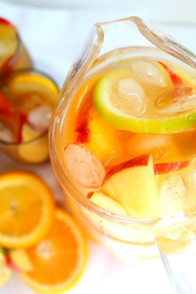 Non Alcoholic Sangria Recipe | AllFreeCopycatRecipes.com