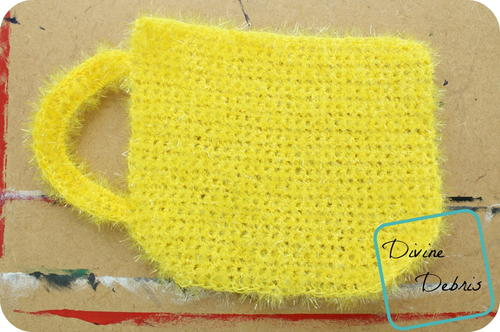Coffee Cup Washcloth
