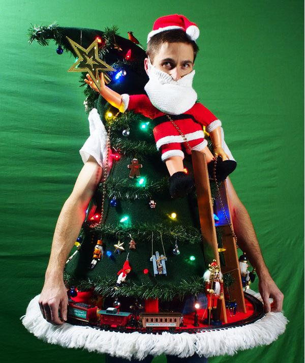"""""""Tipping the Ladder"""" DIY Ugly Christmas Sweater ..."""
