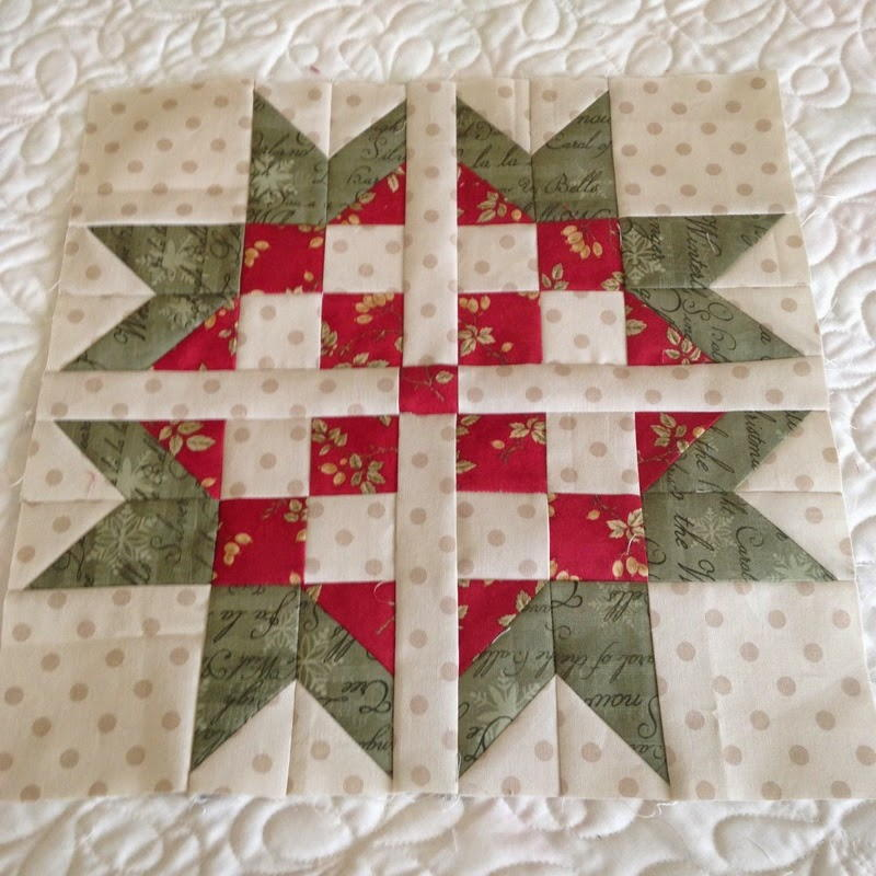 Sweet Scandinavian Star Block Favequilts Com