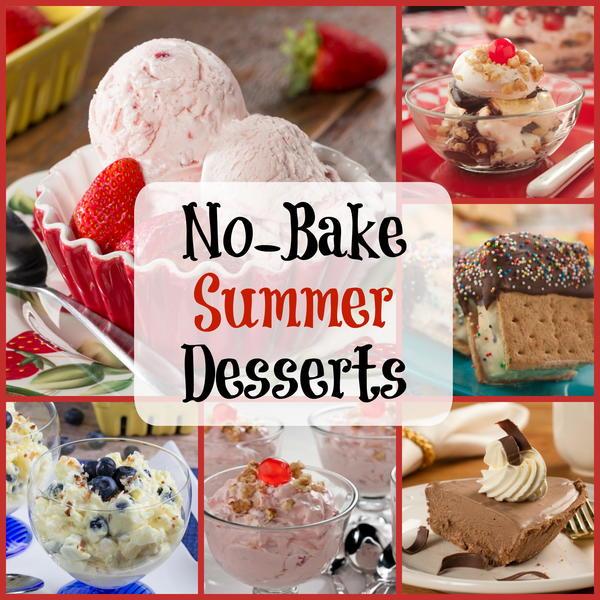 Easy Summer Recipes 6 No Bake Desserts