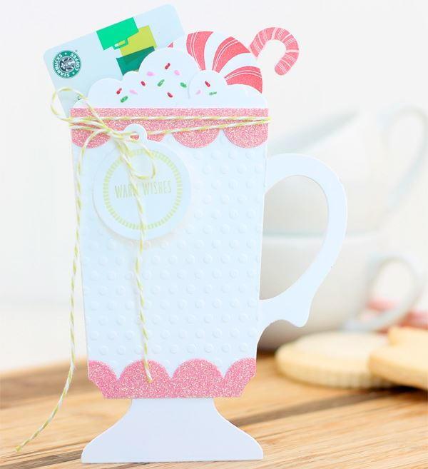 Diy Christmas Gift Card Holder: Christmas Cocoa DIY Gift Card Holder