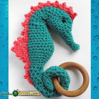 Seahorse Teether