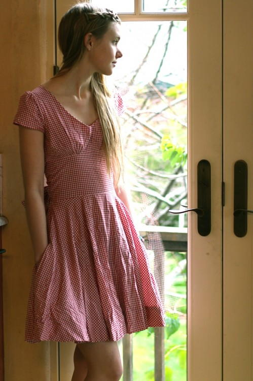 50s Picnic Dress Tutorial Allfreesewing Com