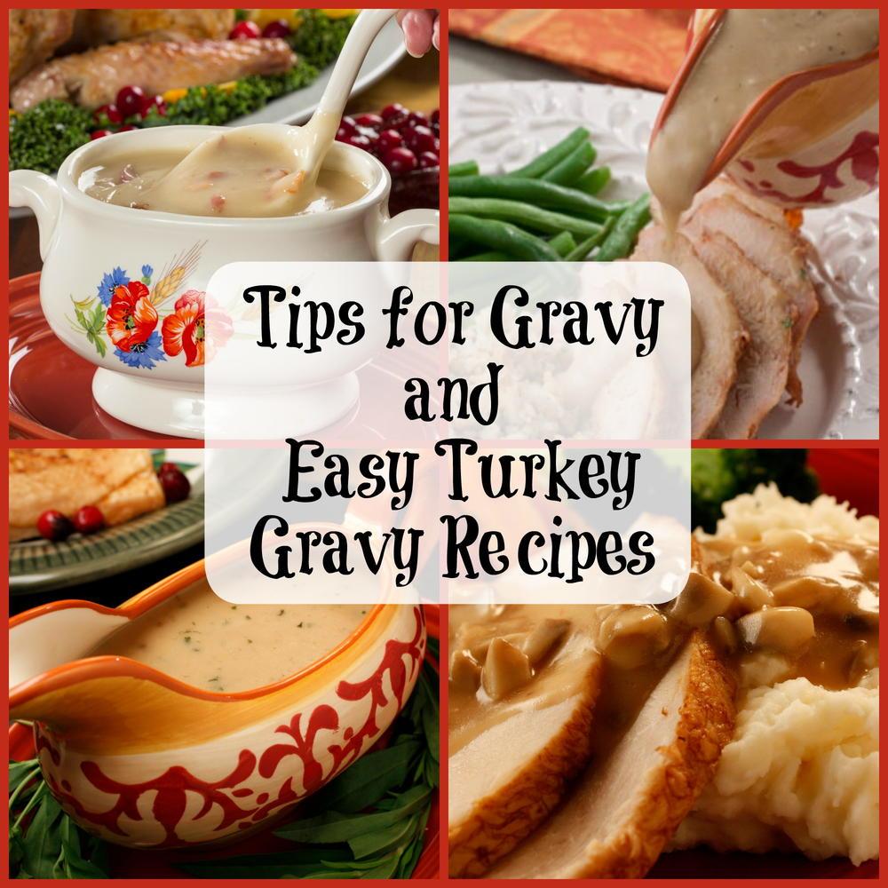 Easy Gravy Recipes, Basic Turkey Gravy Recipes   MrFood.com