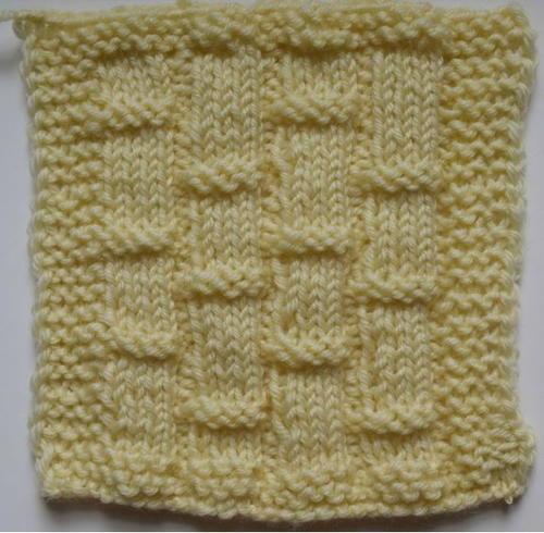 All Free Knitting Stitches : Diagonal Stripe Moss Stitch Pattern AllFreeKnitting.com