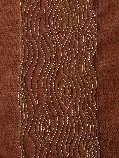 Woodgrain Free Motion Tutorial Favequilts Com