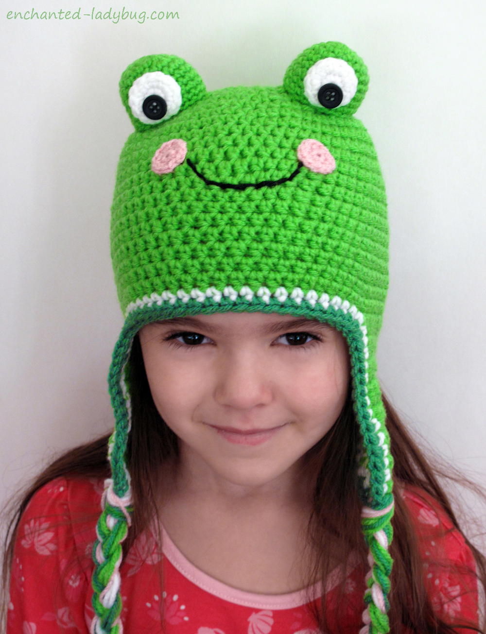 Crochet Frog Hat Pattern - Repeat Crafter Me | 1305x1000
