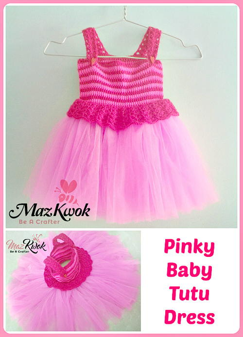 Pinky Baby Tutu Dress Allfreecrochet Com