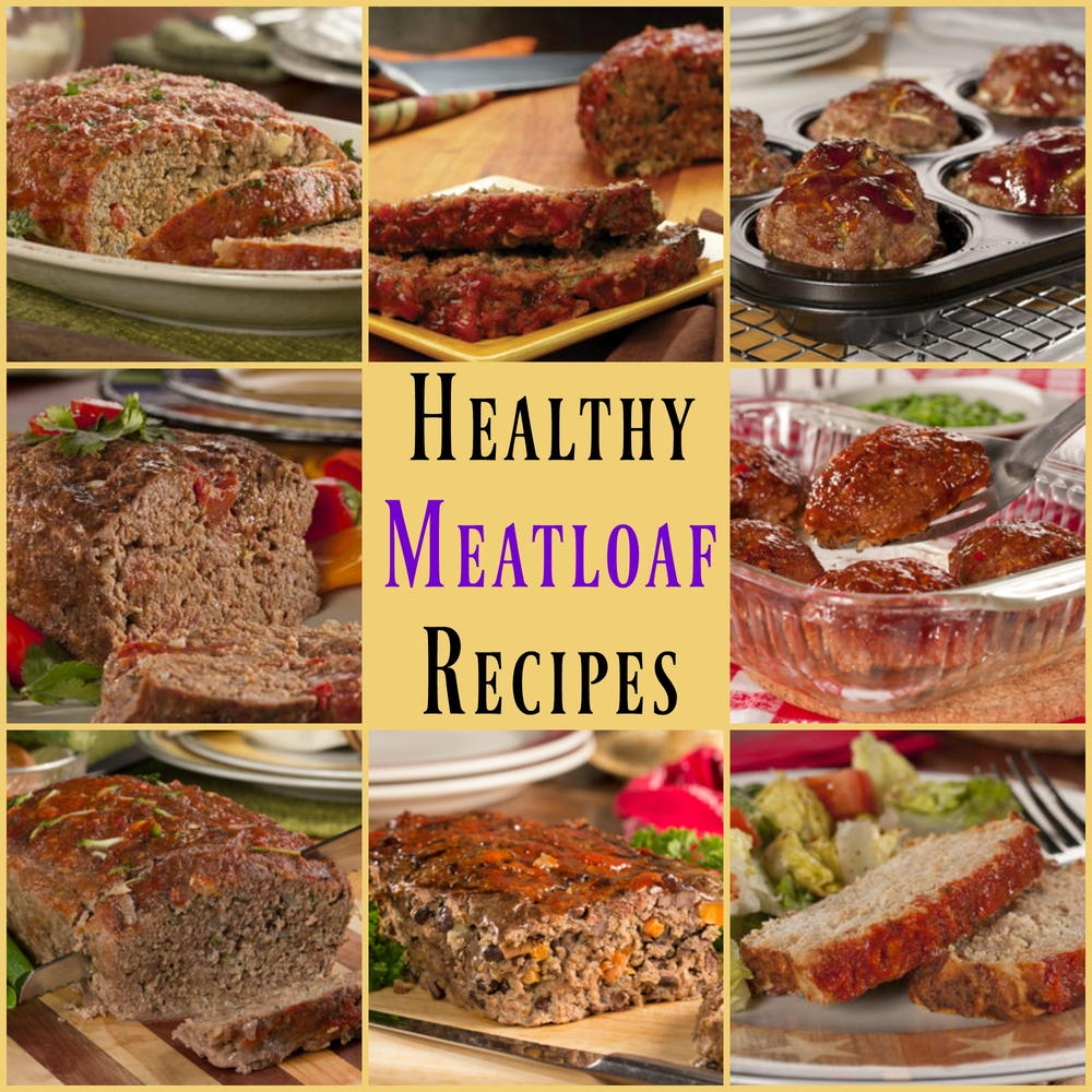 8 Easy, Healthy Meatloaf Recipes