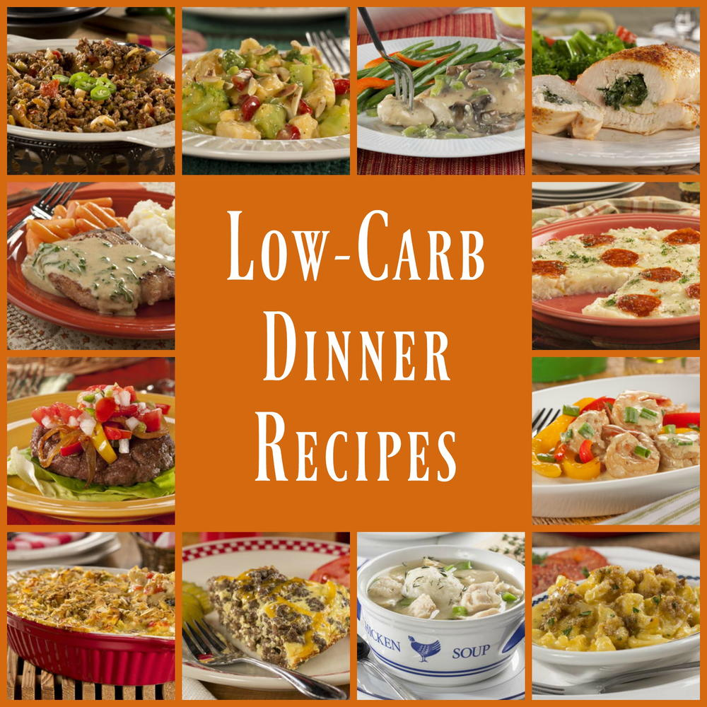 Low-Carb Dinners: 45 Healthy Dinner Recipes