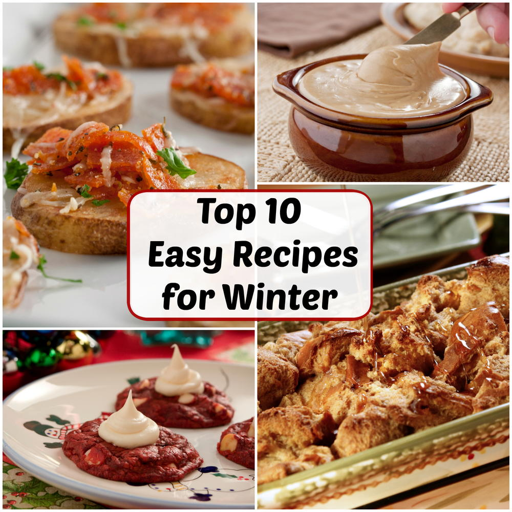 December's Top 10 Most Popular Easy Recipes For Winter