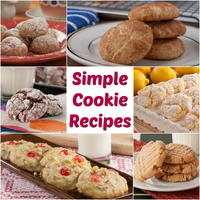 16 Simple Cookie Recipes