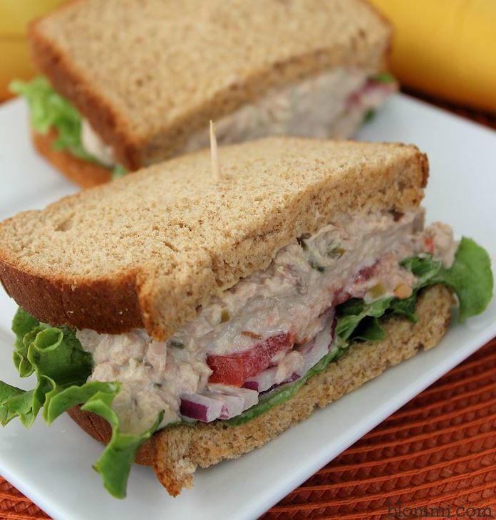 Panera Copycat Tuna Salad Sandwiches