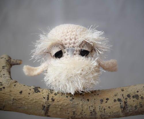 Mountain Lion Amigurumi : Baby Snow Owl FaveCrafts.com