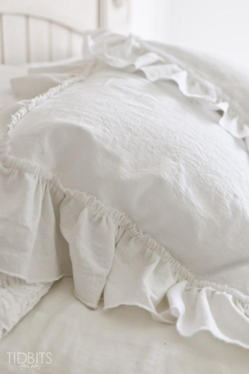 2 Yard Ruffle Pillow Sham