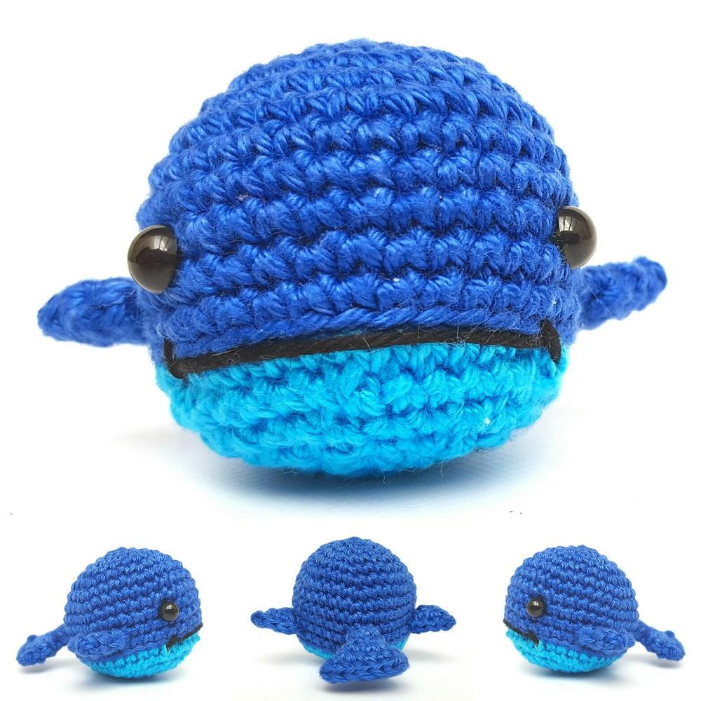 Free Crochet Whale Baby Blanket Pattern : Walter the Whale AllFreeCrochet.com