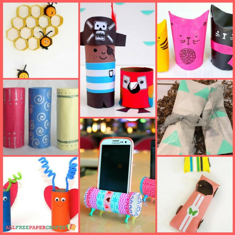 Toilet Paper Roll Crafts 17 Cardboard Crafts For Kids