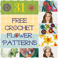 31 Free Crochet Flower Patterns