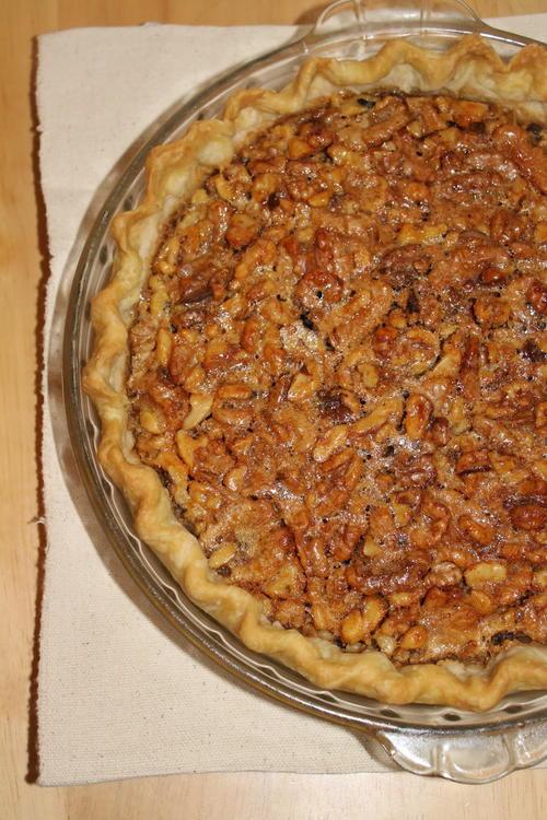 Honey Walnut Pie | TheBestDessertRecipes.com