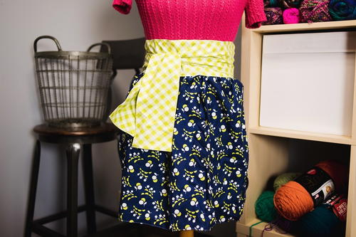 Half Apron Sewing Project