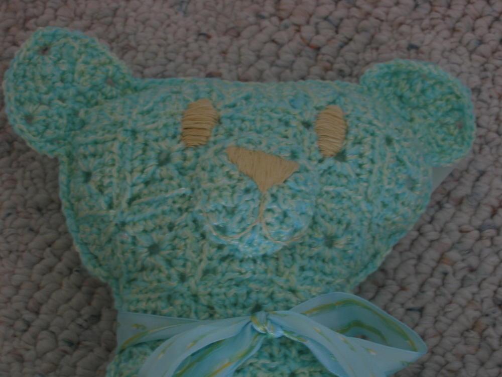 Granny Square Teddy Bear Allfreecrochet Com