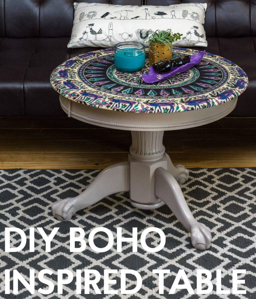 Diy Boho Inspired Table Diyideacenter Com