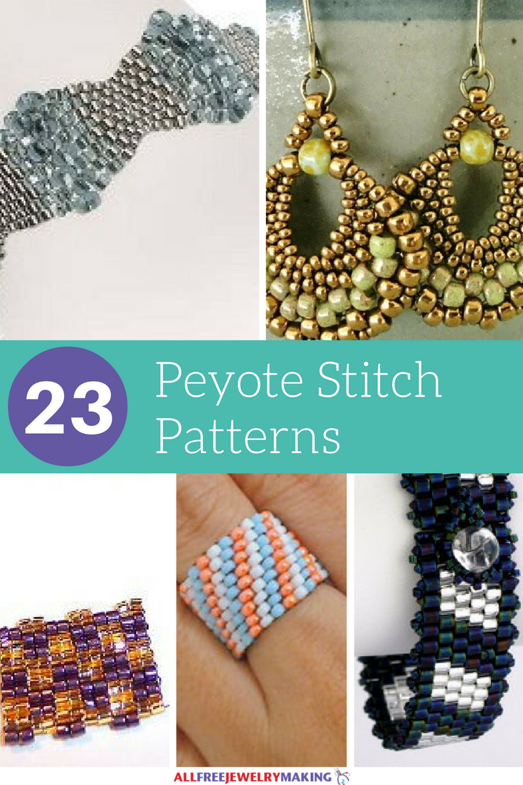 23 Free Peyote Stitch Patterns Allfreejewelrymaking Com