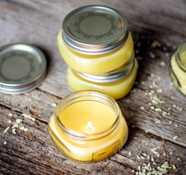 Darling Beeswax DIY Candles DIYIdeaCentercom