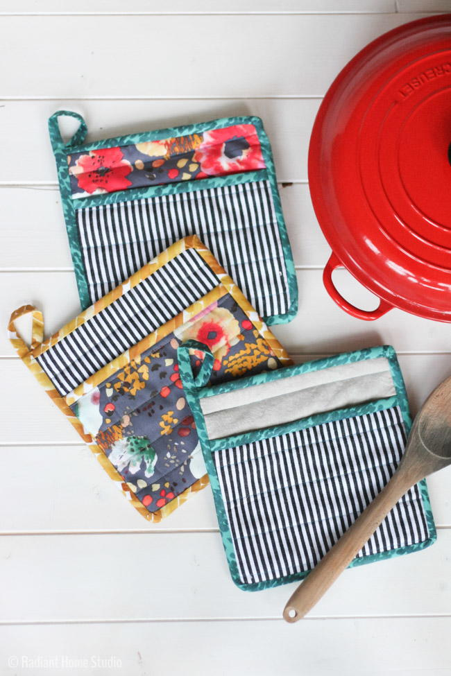 How to Sew a Simple Potholder | AllFreeSewing.com