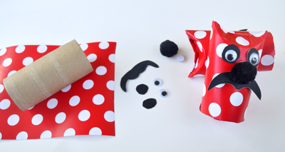 DIY TP Tube Gift Wrapping Idea